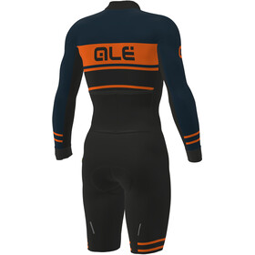 Alé Cycling PRS Fango Skinsuit Herrer, black-petrol-fluo orange